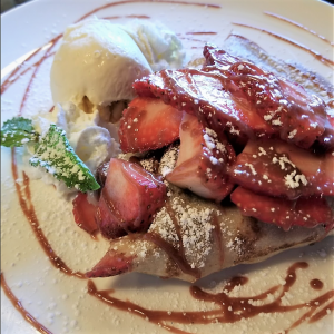 Delightful strawberry nutalla crepe you must try!!!