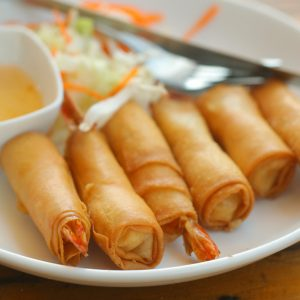 Thai appetizer Shrimp roll