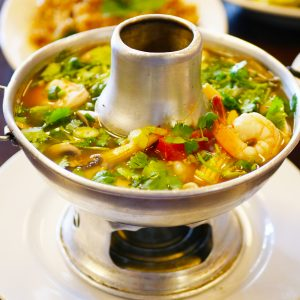 Most popular Thai spicy and sour soup